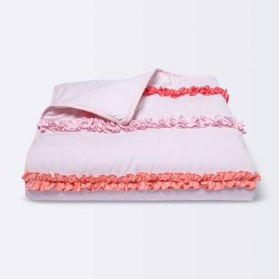 Toddler Quilt Stripe - Cloud Island™ Pink