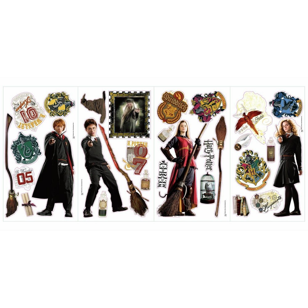 Image of Harry Potter Peel and Stick Wall Decals, Multi-Colored