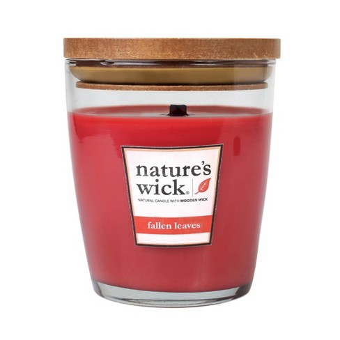 Jar Candle 10oz - Fallen Leaves - Nature's Wick - image 1 of 1
