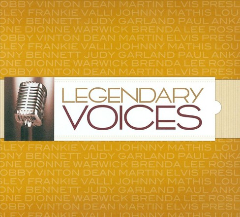 Various - Legendary voices (CD) - image 1 of 1