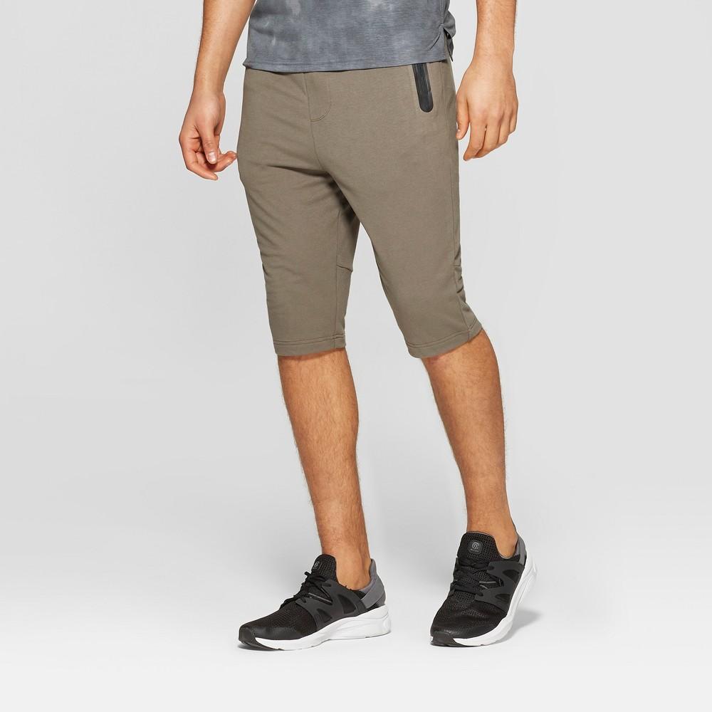 Men's Cropped Pants - C9 Champion Harbor Stone Brown S