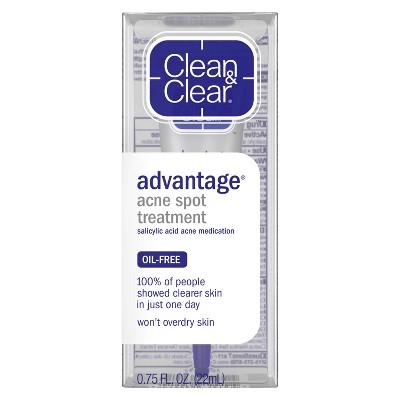 Clean &Amp; Clear Advantage Spot Treatment With Witch Hazel   .75 Fl Oz by .75 Fl Oz