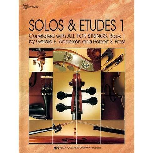 KJOS Solos And Etudes, BK1/PA ACC - image 1 of 1
