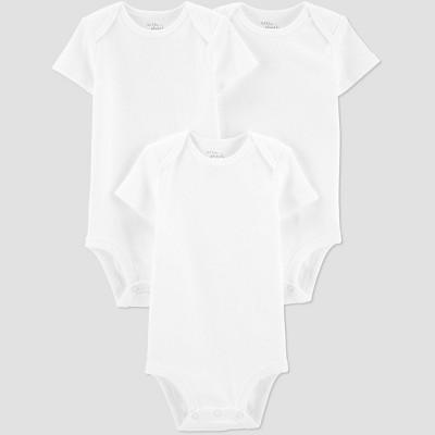 Baby 3pk Bodysuit - little planet organic by carter's Ember White 3M