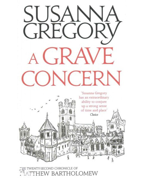 Grave Concern (Hardcover) (Susanna Gregory) - image 1 of 1
