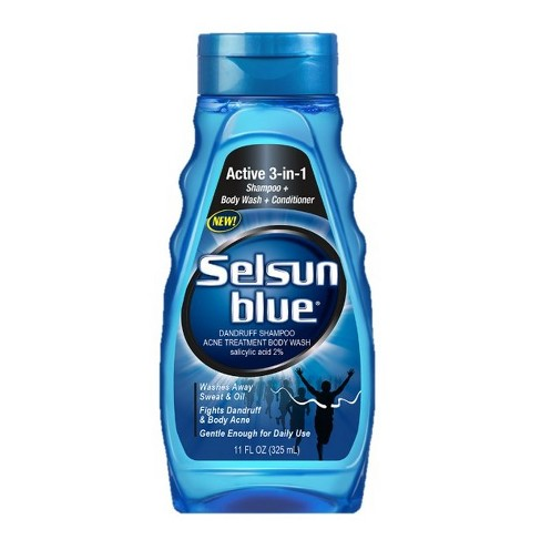 Selsun Blue 3-in-1 Body Wash, shampoo And Conditioner - 11 fl oz - image 1 of 1