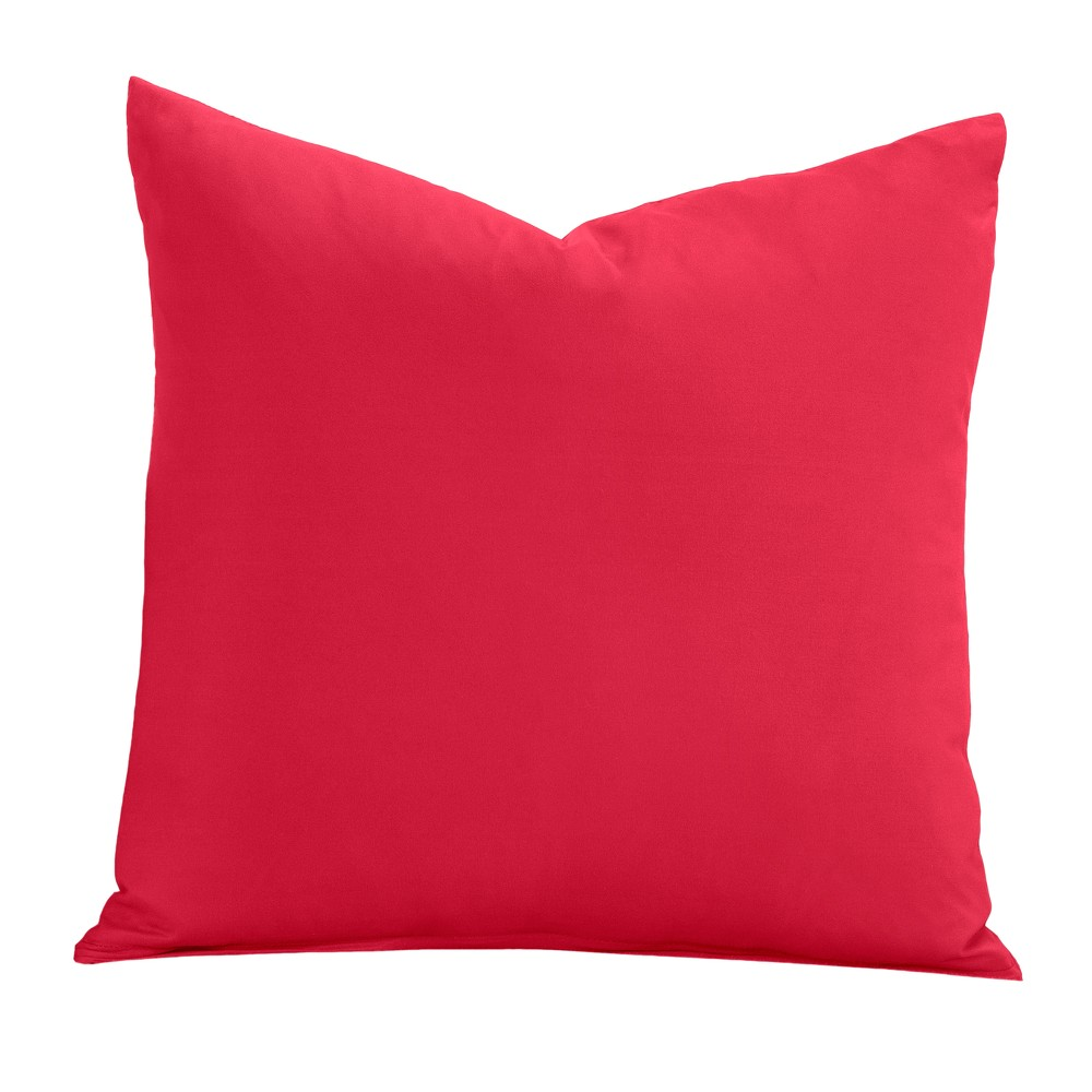 "Image of ""Red 26"""" Throw Pillow - Learning Linens"""