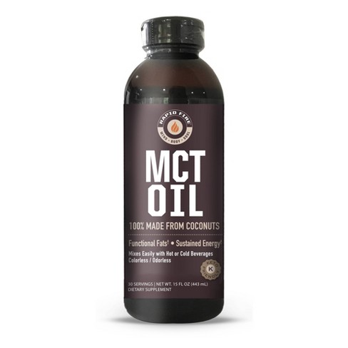 Rapid Fire Coffee MCT Oil - 15oz - image 1 of 4