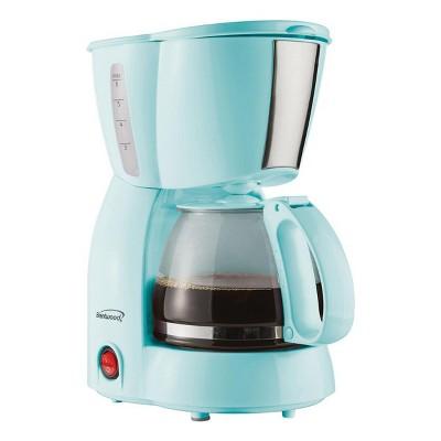 Brentwood 4 Cup 650  Watt Coffee Maker in Blue