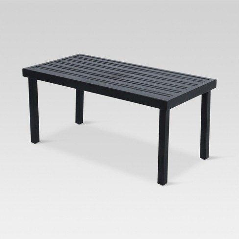 Fort Walton Steel Rectangle Patio Coffee Table - Project 62™ - Fort Walton Steel Rectangle Patio Coffee Table - Project 62™ : Target