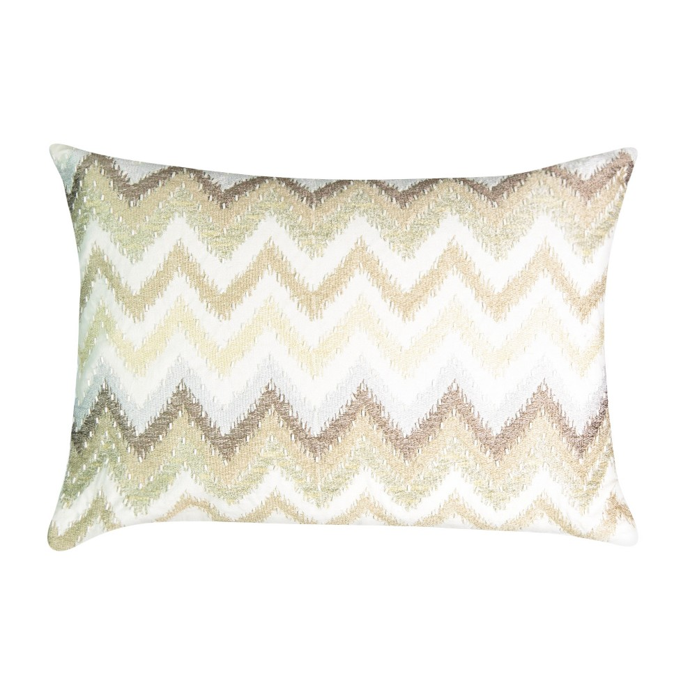 Tan Geo Social Call Lumbar Pillow (14x20) - Beautyrest