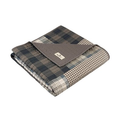 """50""""x70"""" Winter Plains Quilted Throw Blanket Taupe - Woolrich"""