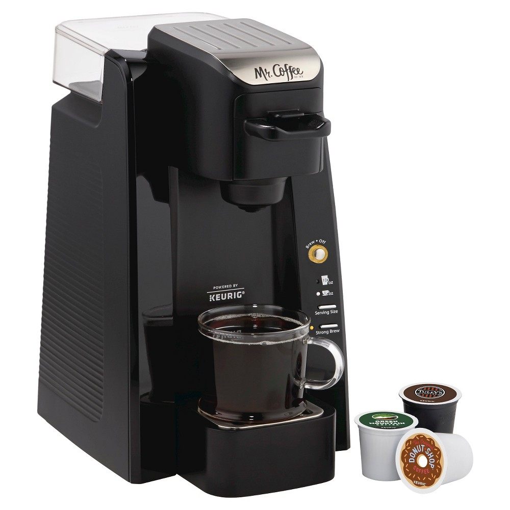 Mr. Coffee Single Serve Brewing System - Black Bvmc-SC500