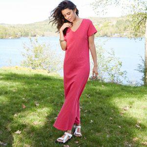 Women's Short Sleeve T-Shirt Dress - Universal Thread™ Pink XS