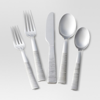 Lina Mirror Silverware Set 20-pc. Stainless Steel - Threshold™