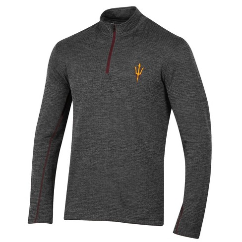 Arizona State Sun Devils Men's Long Sleeve Digital Textured 1/4 Zip Fleece - Gray - image 1 of 2