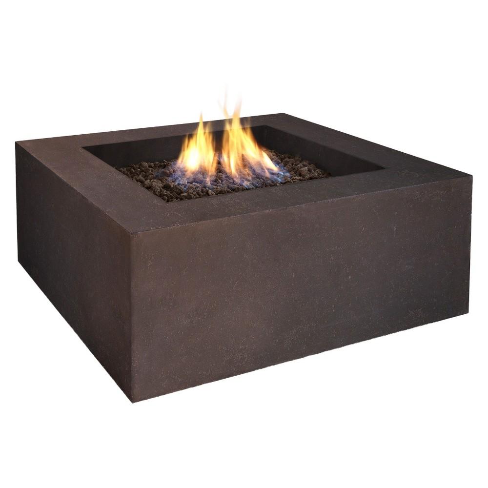 Baltic 36 Lightweight Fiber - Concrete Propane Fire Table...