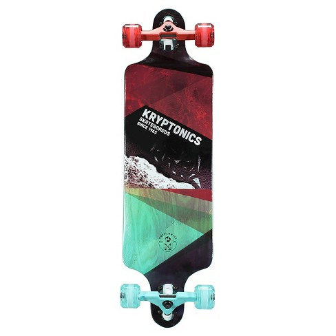 "Kryptonics 34"" Drop Down Longboard - High Tides - image 1 of 2"