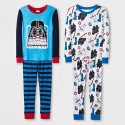 Boys' LEGO Star Wars 4pc Pajama Set - Blue