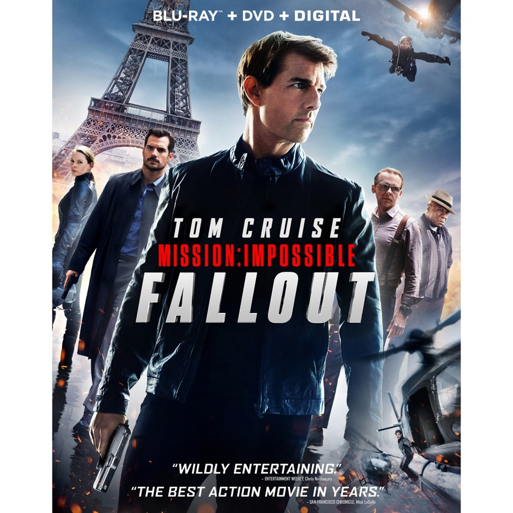 Mission: Impossible 6 - Fallout (Blu-Ray + DVD + Digital) was $13.0 now $7.99 (39.0% off)