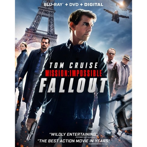 Mission: Impossible 6 - Fallout (Blu-Ray + DVD + Digital) - image 1 of 1