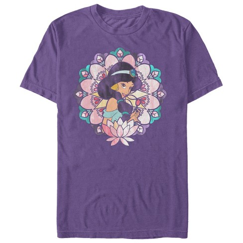 Men's Aladdin Jasmine Lotus Flower T-Shirt - image 1 of 1
