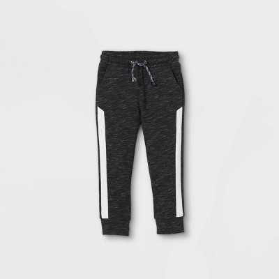 Toddler Boys' Athletic Striped Knit Pull-On Jogger Pants - Cat & Jack™