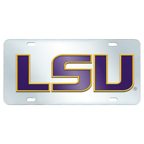 NCAA Acrylic Inlaid License Plate Frame - image 1 of 2
