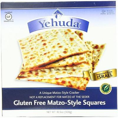 Yehuda Gluten Free Matzo-Style Squares 10.5oz