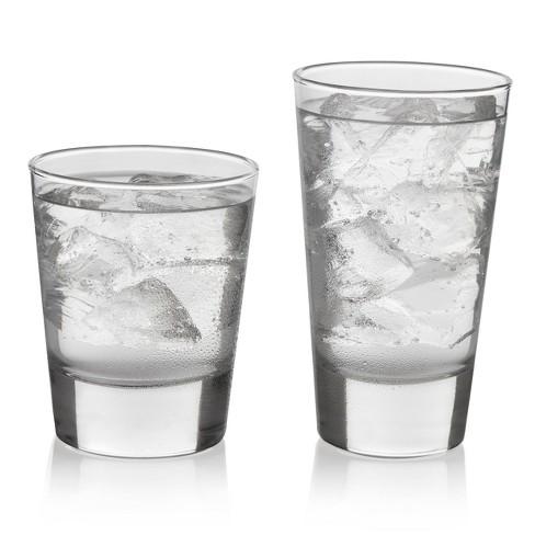 Libbey Geo Glass 16pc Drinkware Set - image 1 of 4