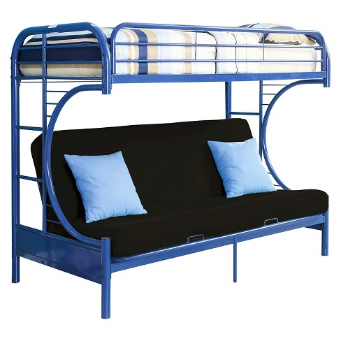Eclipse Kids Futon Bunk Bed - Blue(Twin XL/Queen) - Acme - image 1 of 2