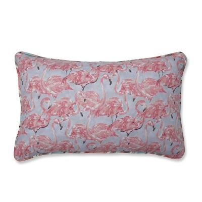 Beach Social Bloom/Splash Zone Bellini Lumbar Throw Pillow - Pillow Perfect