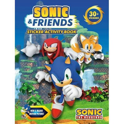 Sonic Friends Sticker Activity Book Sonic The Hedgehog Paperback Target