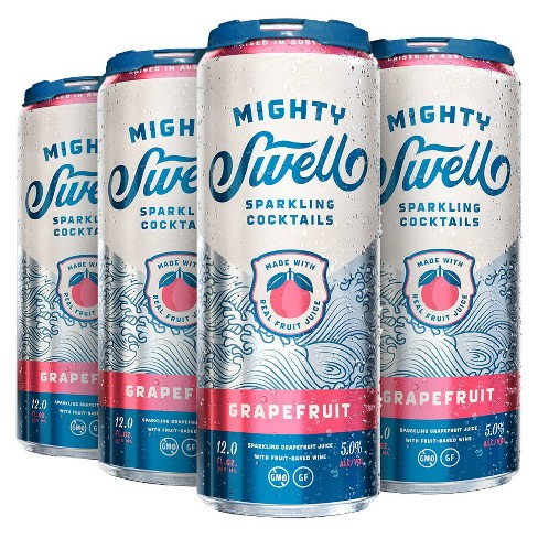 Mighty Swell® Sparkling Grapefruit - 6pk / 12oz Cans - image 1 of 1