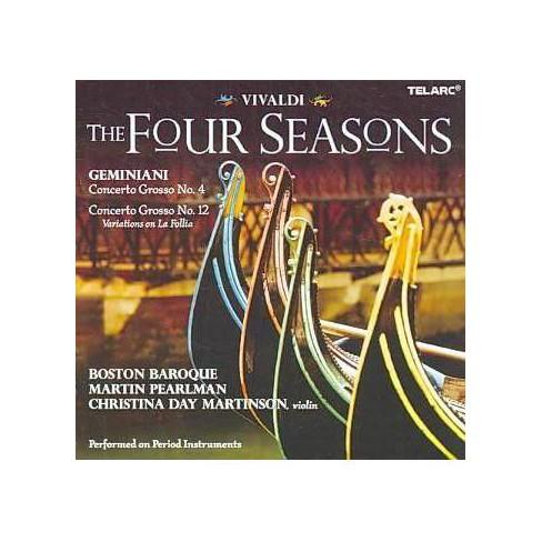 Martin Pearlman; Francesco Geminiani; Evans - Vivaldi: The Four Seasons (CD) - image 1 of 1