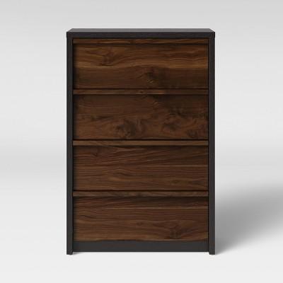 Gruen Two Tone 4 Drawer Dresser Grand Walnut Brown - Project 62™