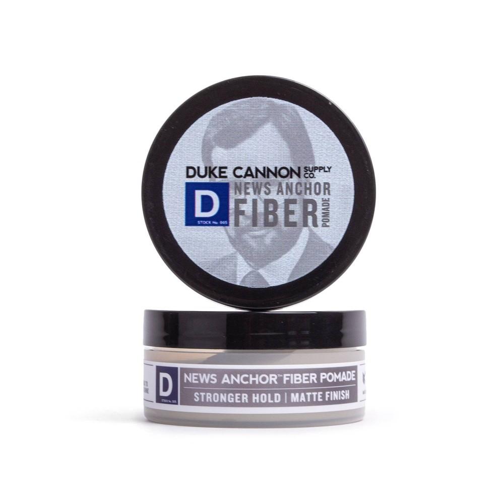 Image of Duke Cannon News Anchor Fiber Pomade Travel Size - 2oz