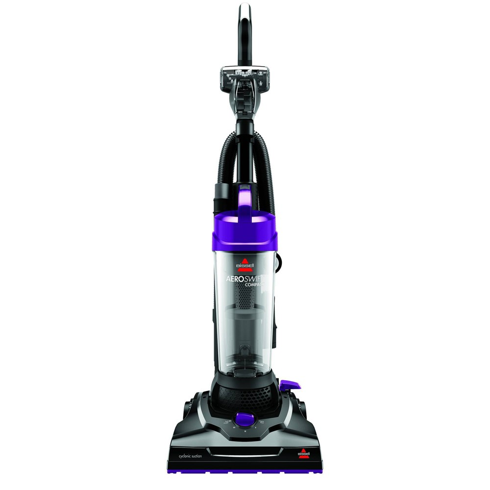 Image of BISSELL AeroSwift Compact Bagless Vacuum - 2612A, Purple