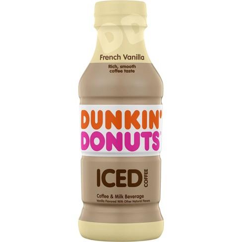 Dunkin Donuts French Vanilla - 13.7 fl oz Bottle - image 1 of 3