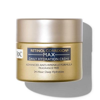 RoC Retinol Correxion Max Daily Hydration Crème Fragrance-Free - 1.7oz
