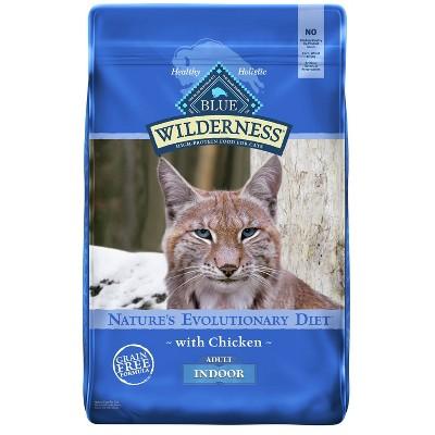 Blue Buffalo Wilderness Grain Free Indoor with Chicken Adult Premium Dry Cat Food