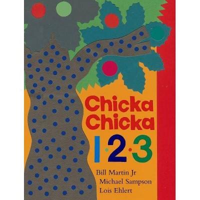 Chicka Chicka 1, 2, 3 - (Chicka Chicka Boom Boom) by  Bill Martin & Michael Sampson (Hardcover)