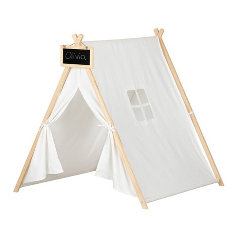 Sweedi Play Tent with Chalkboard Organic Cotton and Pine  - South Shore - image 1 of 4