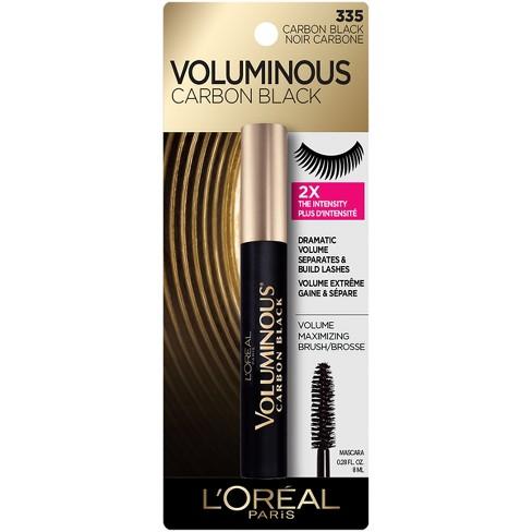3092505f424 L'Oreal Paris Voluminous Mascara 335 Carbon Black .28 Fl Oz : Target