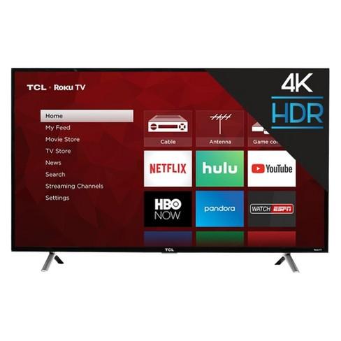 """TCL 49"""" 4K UHD HDR Roku Smart ..."""
