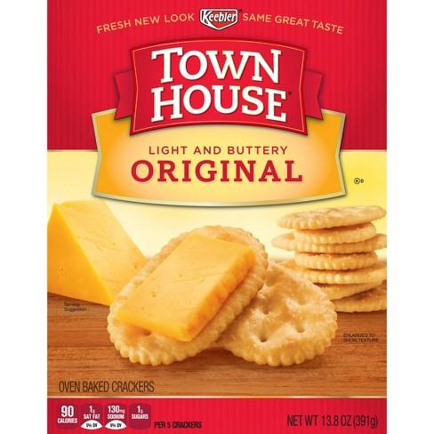 Keebler Town House Original Snack Crackers - 13.8oz - image 1 of 8