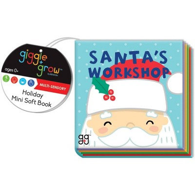 Santa's Workshop Crinkle Book