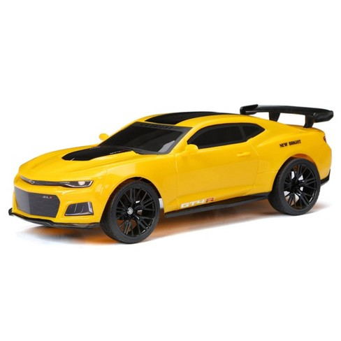 New Bright Camaro  - 1:12 Scale - Yellow - image 1 of 4