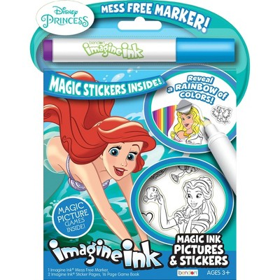 Disney Princess Imagine Ink Sticker Book