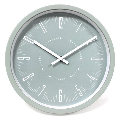 10  Wall Clock Green - Project 62™